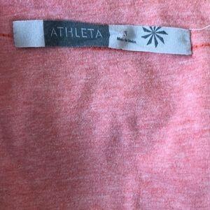 Athleta Dresses - Athleta bohemian V-neck T-shirt layer dress small